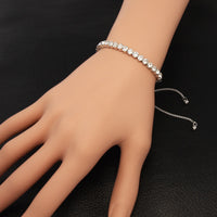 High Quality Crystal Slim Bracelet for Women.