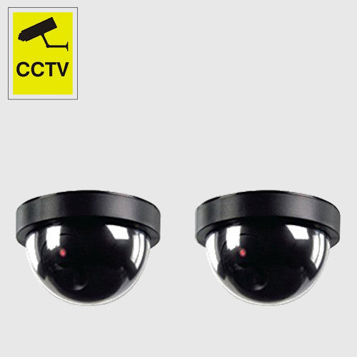 Dummy Round Camera Black (2 pcs)
