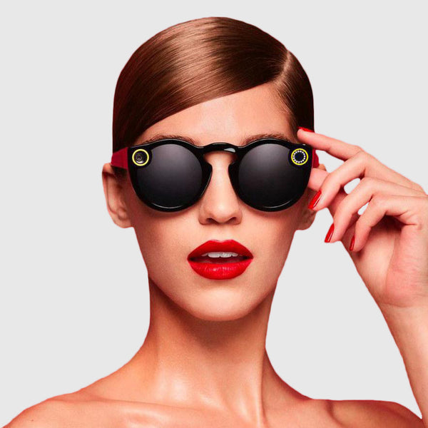 Snapchat Glass - black