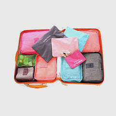 6 Sets Travel Organizers