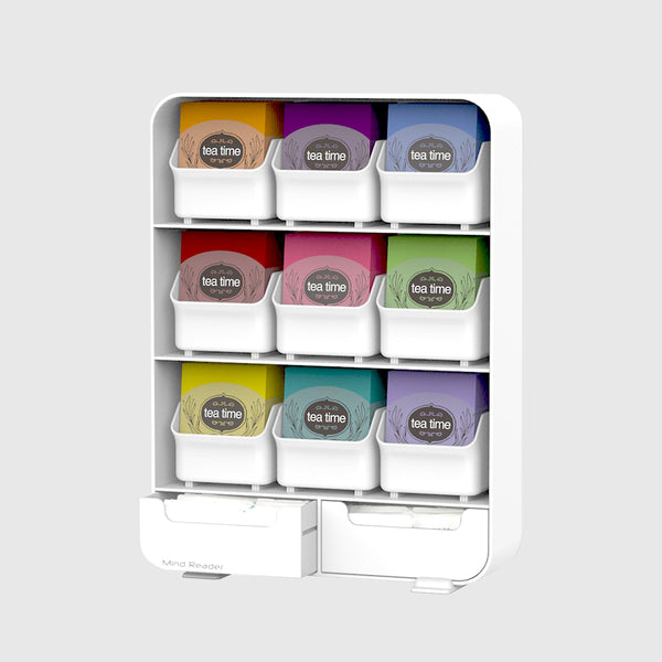 Tea Bag Organizer - White