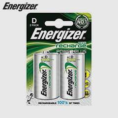 ENERGIZER - Rechargable Battery Type - D
