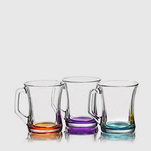 Coloured Glasses  (6 pcs)