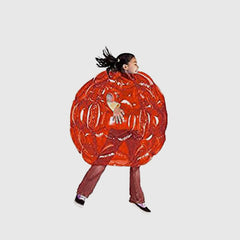 Rolling Inflatable Ball - Red