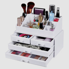 Makeup Organizer - White