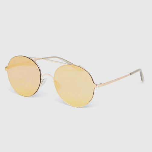 ASOS Round Sunglasses - Gold