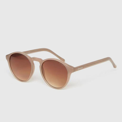 Komono Devon Round Sunglasses in Sahara