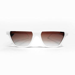 Sunglass - White & brown