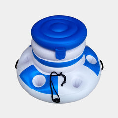 Inflatable Ice Bucket with glass  Holder