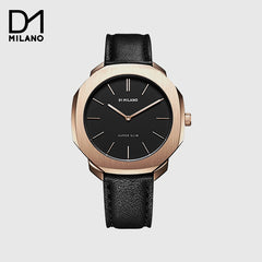 D1 MILANO - Super Slim Black/Gold with Black Dial