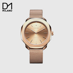 D1 MILANO  - Watch Rose gold with Milanese Bracelet