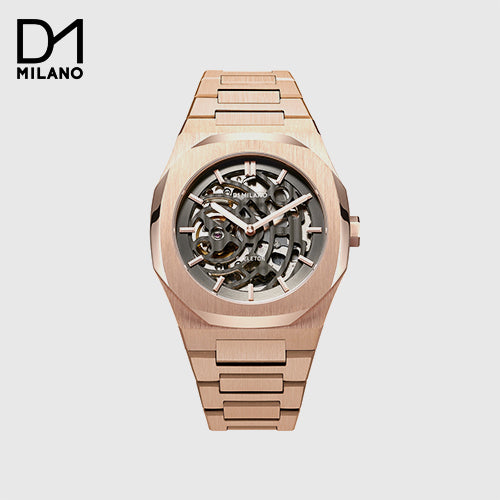 D1 Milano - Rose Gold Skeleton Dial Automatic