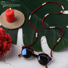 Chain for glasses -  Red / White