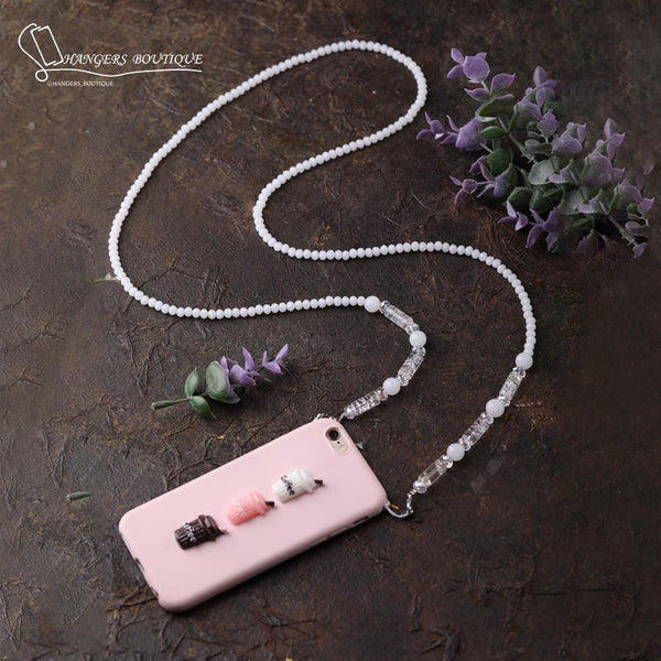 Chain for phones - white