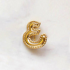 Brooch The Arabic Letter Eeen