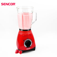 Sencor - Glass Blender 1.5 Ltr - Red