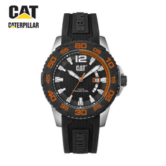 CATERPILLAR - Watch for Men Analog with black rubber Band