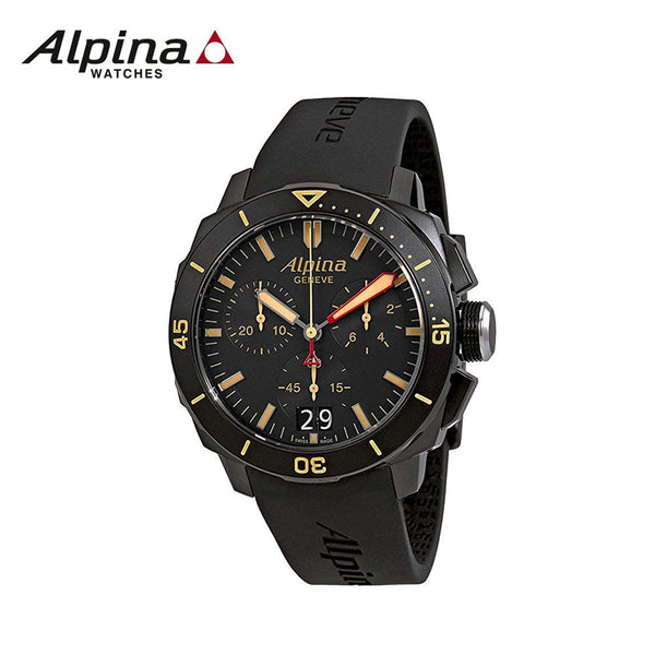 ALPINA - Seastrong Diver 300 Analogue Chronograph Watch