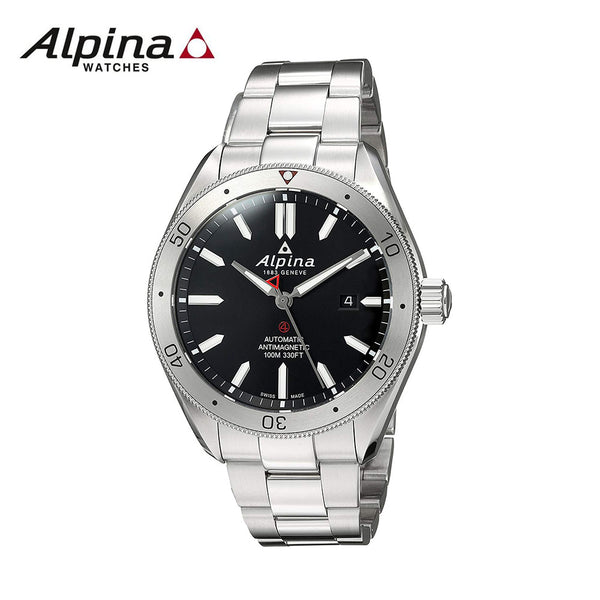 ALPINA - Alpiner 4 Swiss-Automatic Watch with Stainless-Steel Strap Silver