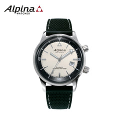 ALPINA - Seastrong Diver Heritage watch- with black strap