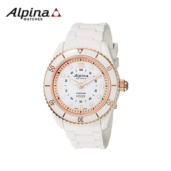 ALPINA - Ladies Horological Smartwatch white Watch