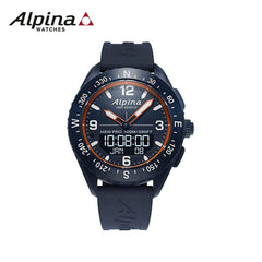 ALPINA - Alpinerx Watch with Blue Strap Blue/Orange
