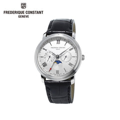FREDERIQUE CONSTANT - Business Time Analog Display Swiss Quartz Black Watch
