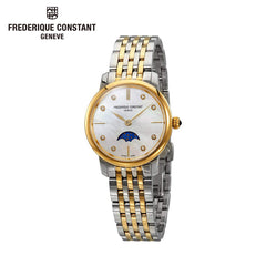 FREDERIQUE CONSTANT - Slimline Diamond Swiss Quartz Watch