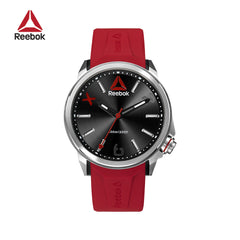 REEBOK - FlashLine Red Silver Silicone watch