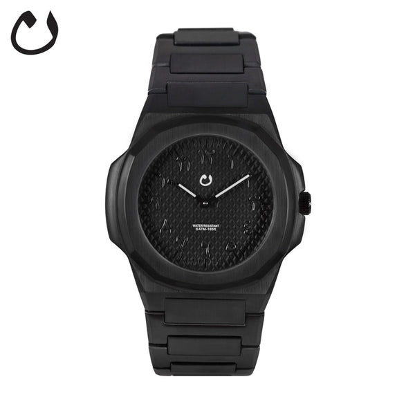 Nuun - Montre Black  Arabic numbers