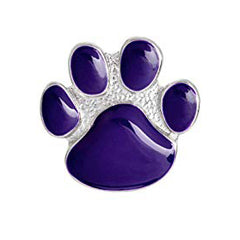 Pin - Purple Cat Foot