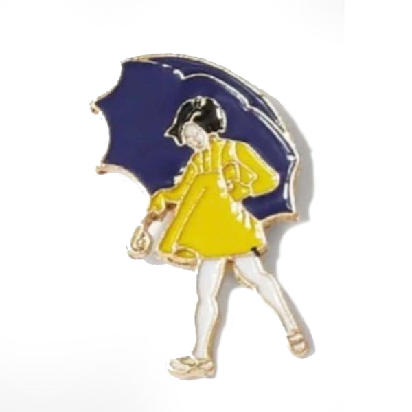 Pin - Lady With Umbrella