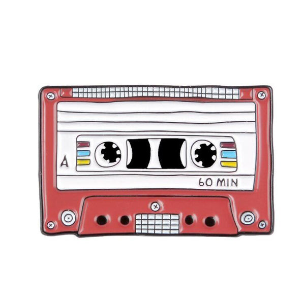 Pin - Red Song Cassette