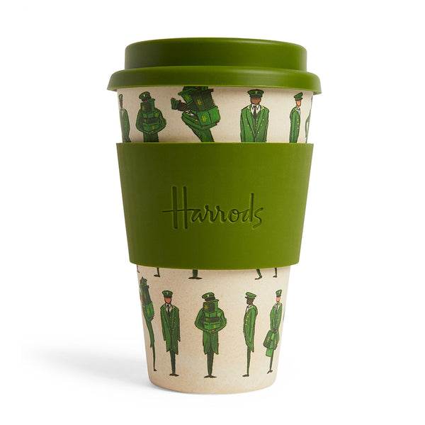 Harrods - Bamboo Green Man Travel Cup