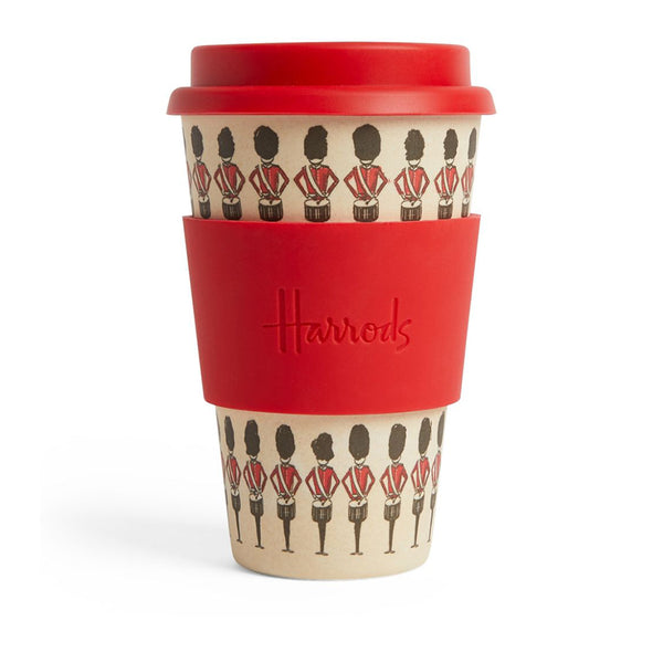 Harrods - Bamboo Guardsman Travel Cup