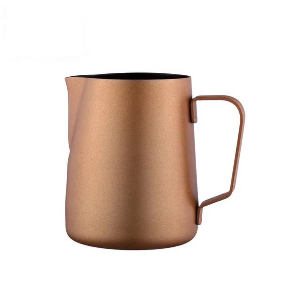 600 ml Gold Color Stainless Steel Milk Pitcher