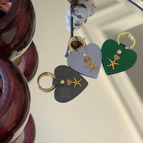Key chain - Heart with KSA Logo