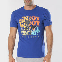 Enjoy T shirt - Blue