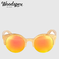 Duwood Sunglass - Orange and Yellow