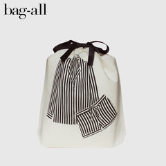 Bag all Pajamas striped organisation bag
