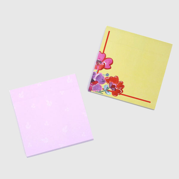Sticky Notes - Flowers