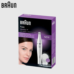 Facial Cleansing Brush and Electric Hair Removal
