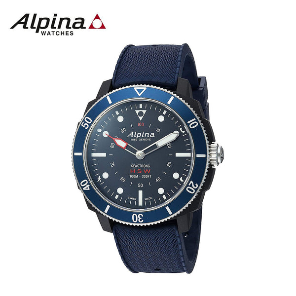 ALPINA - Horological Seastrong Smart Watch Analog Display Quartz Blue
