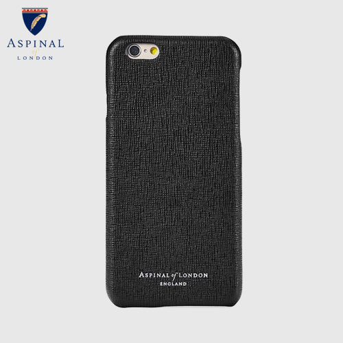 iPhone7 Leather Cover - Black Saffiano