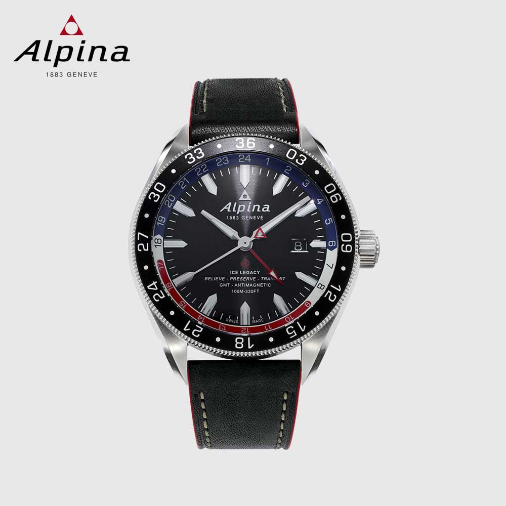 Alpina Watches For Men Black Silver Matajeronline - Buy alpina watches