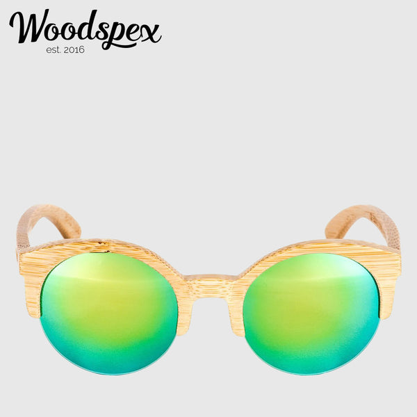 Duwood Sunglass - Blue and Green