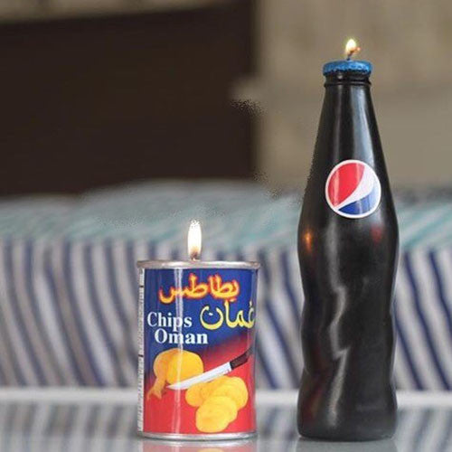 Oman Chips Candle