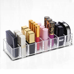 Acrylic Makeup Organizer - 8 Cells