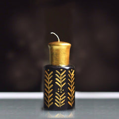 Candle Oud bottle - Black Big