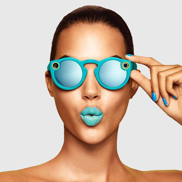 Snapchat Glass - Blue